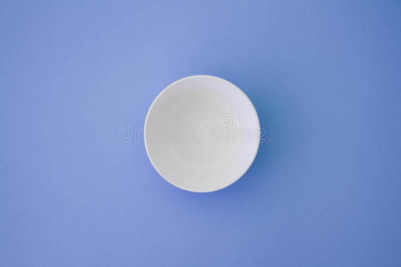 Minimal Plate Top View royalty free stock photos