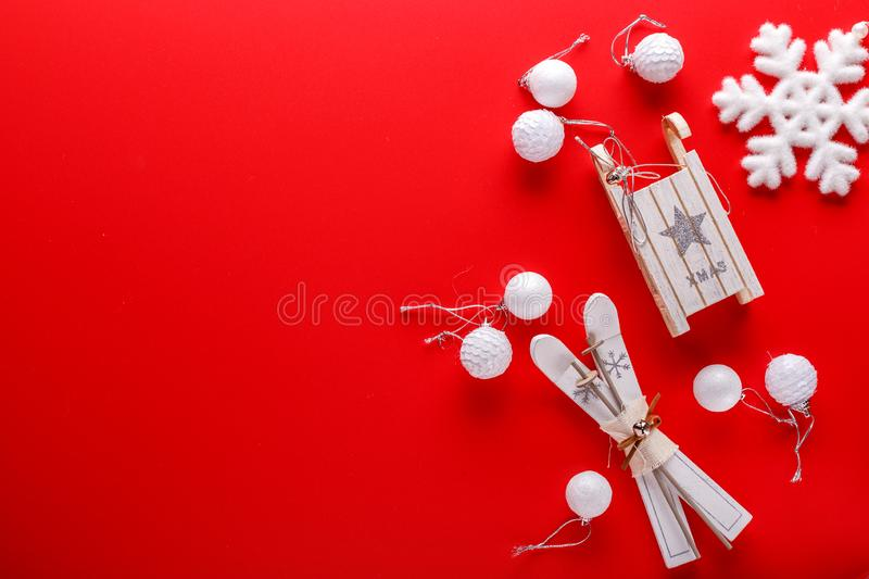 Christmas decorations for Christmas holiday royalty free stock photos