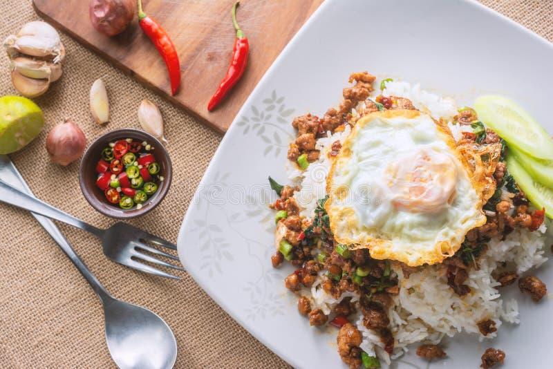 Thai Recipe. stock images
