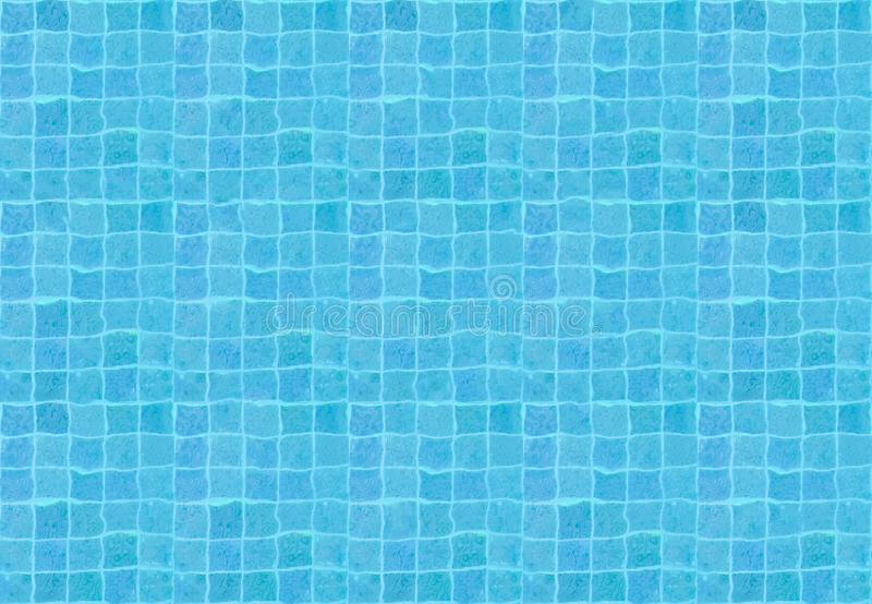 Top view Seamless water pool pattern in blue color. Top view, Seamless water pool pattern in blue color stock photos