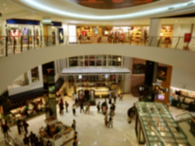 Top View, Simple Blur Photo, View from Top Shopping Mall for background, bannière et autres éléments design photos libres de droits