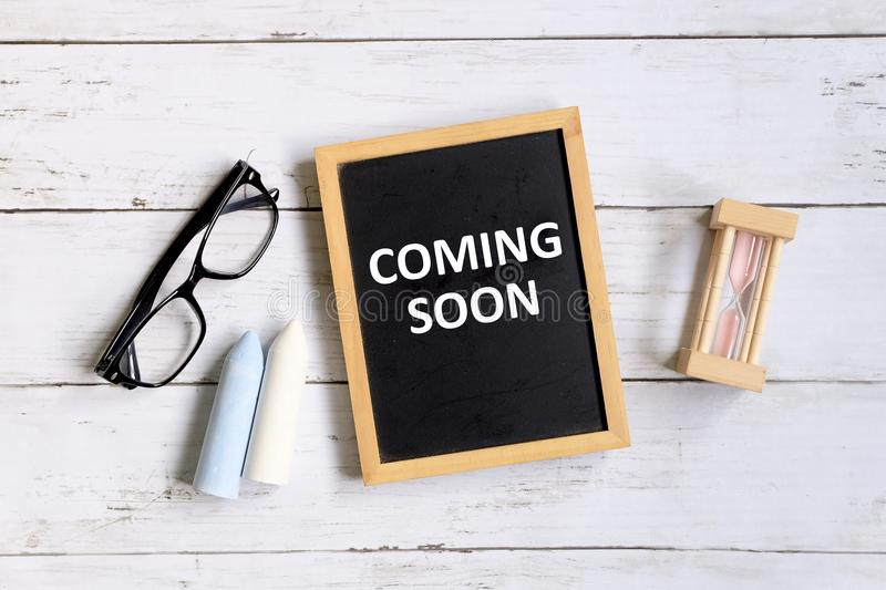 Coming soon royalty free stock image