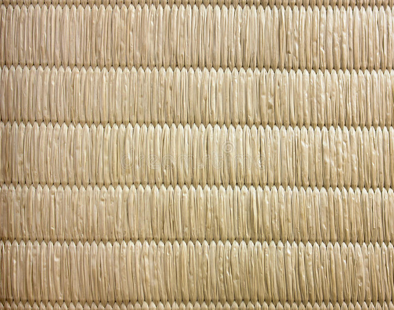 Top View Of Tatami Japanese Mat Texture Background No Gradient L. Ight stock photography
