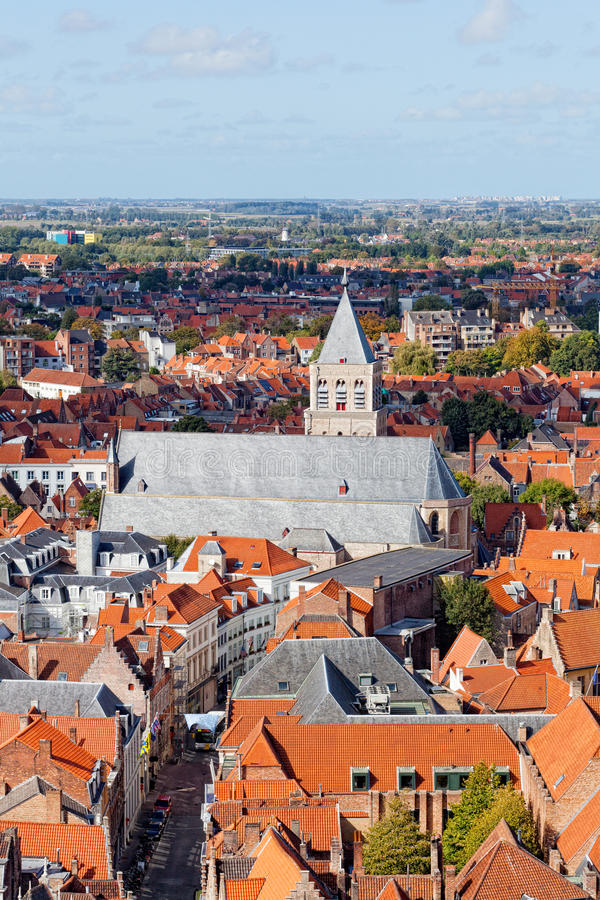 Download Top View To Bruges Royalty Free Stock Photos - Image: 28582278