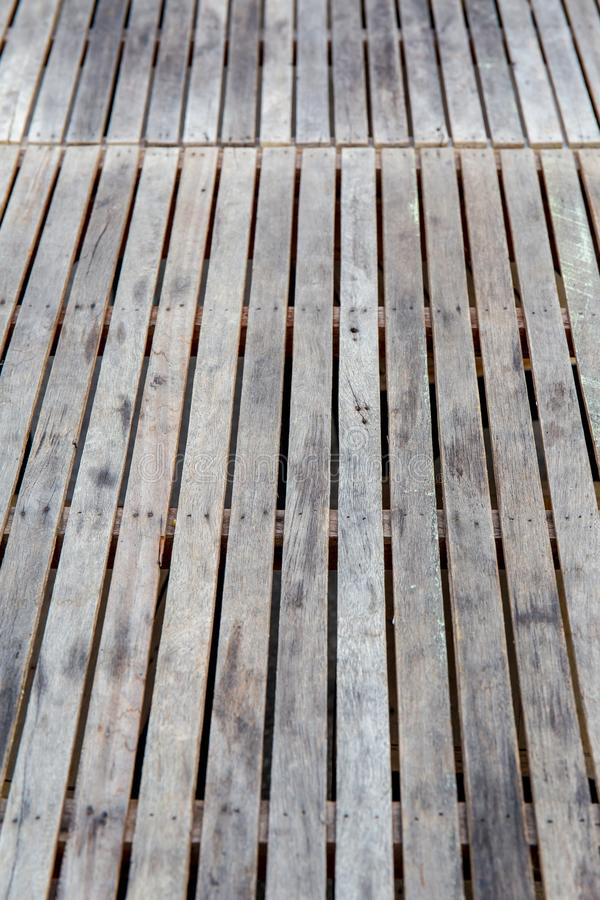 Top view wood or wooden wall table or floor for background texture. royalty free stock photos