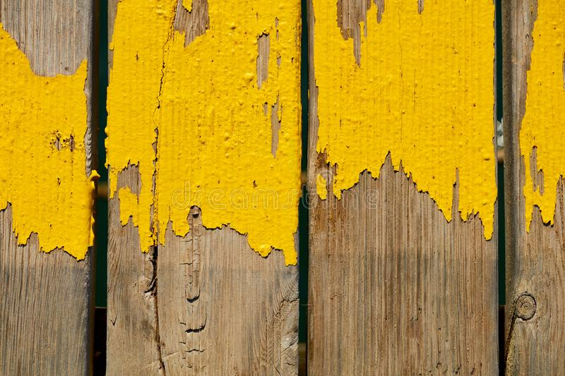 Top view of wooden planks stock image