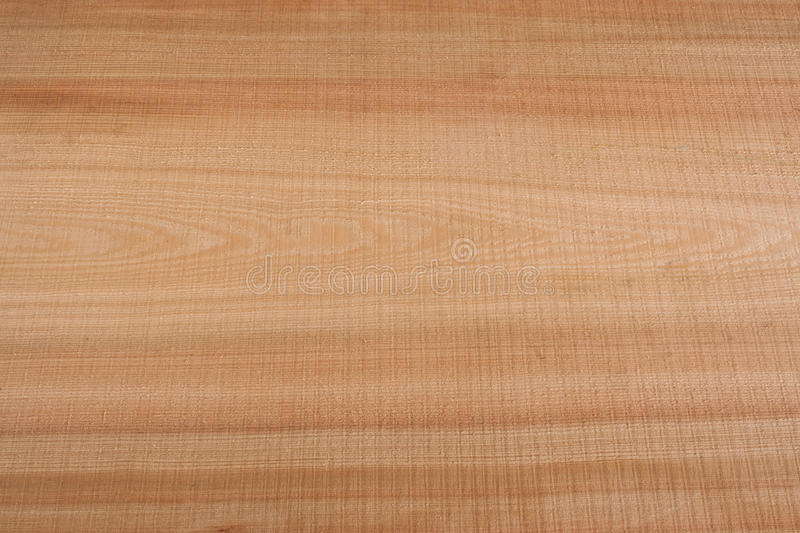 Top view on wooden texture larch slab. Top view on wooden longitudinal texture larch slab royalty free stock photos