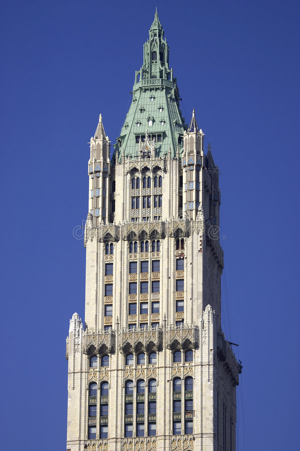 Download Top Of The Woolworth Building Stock Photo - Image: 360686