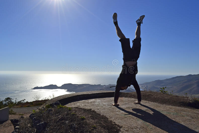 On top of the world stock images