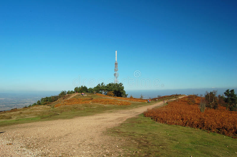 Top of the wrekin royalty free stock images
