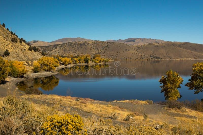 Topaz Lake imagen de archivo libre de regalías