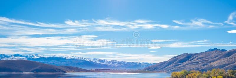 Topaz Lake, Nevada imágenes de archivo libres de regalías