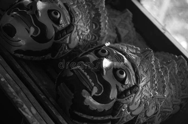Topeng Malangan stock afbeeldingen