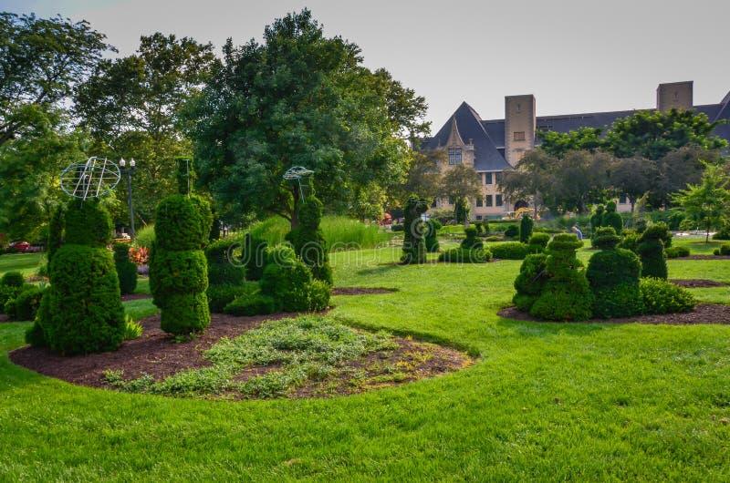 Topiaraytuin - Columbus, Ohio royalty-vrije stock fotografie