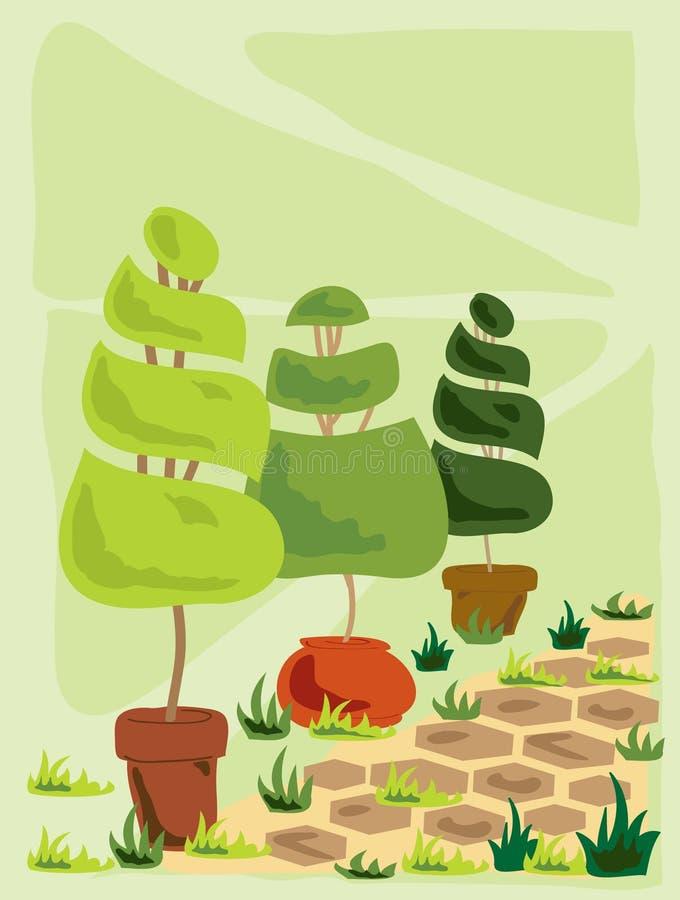Topiary ilustração do vetor