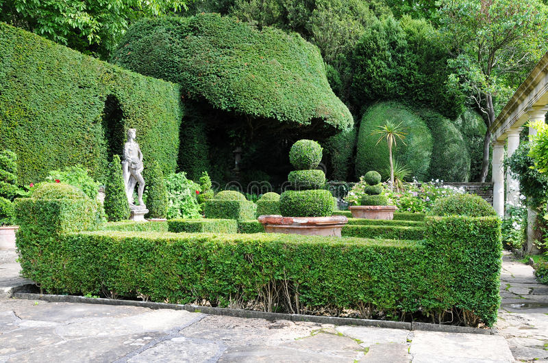 Download Topiary In A Formal Garden Stock Image. Image Of Garden   19640533