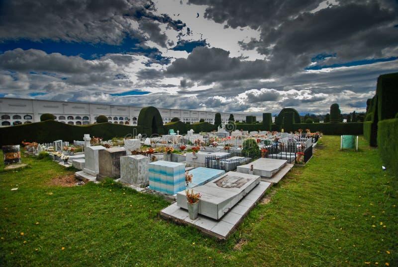 Topiary Garden Cemetery stock image