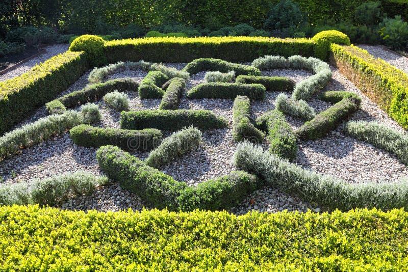 Topiary-Landschaftsgestaltung stockbild