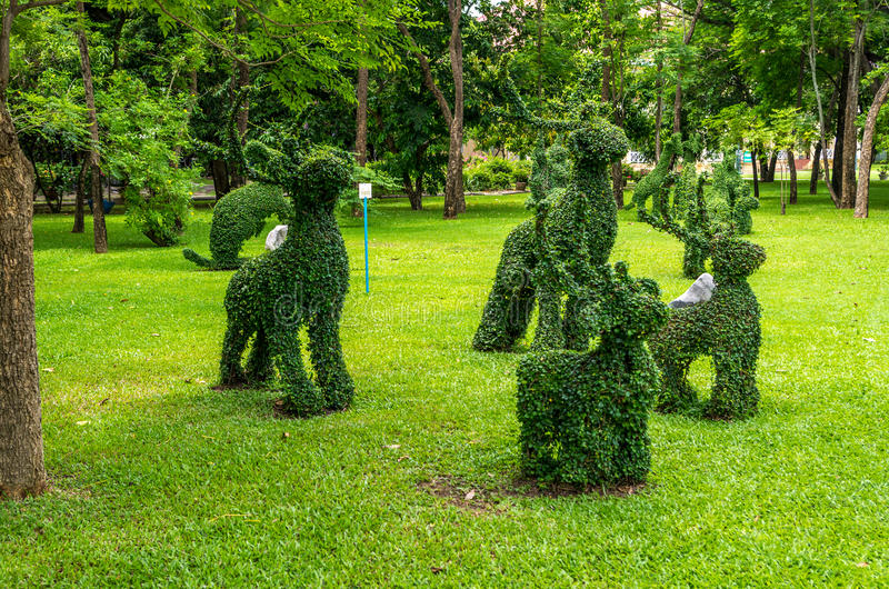 Download Topiary, Rabbits  Trimmed Out Of Shrubs Editorial Photography - Image: 33787712