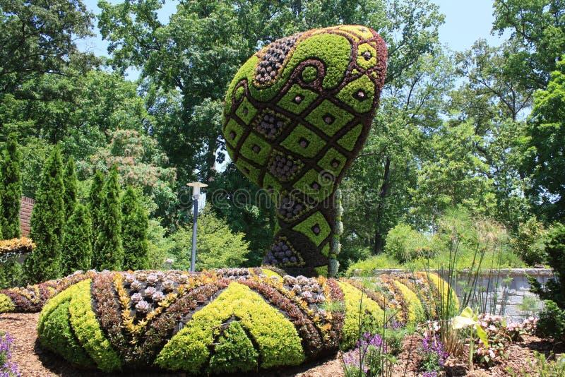 Topiary slang stock foto