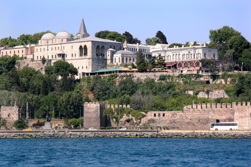 Topkapi宫殿-伊斯坦布尔 免版税库存图片