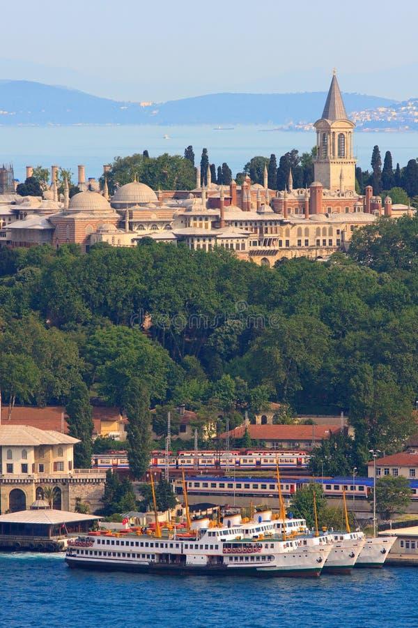 topkapi дворца стоковое изображение
