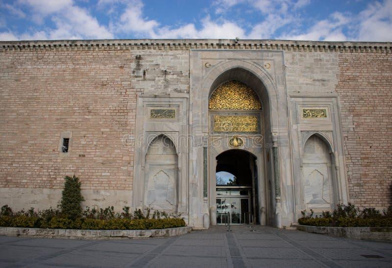 Topkapi pałac Istanbuł, Turcja zdjęcia royalty free