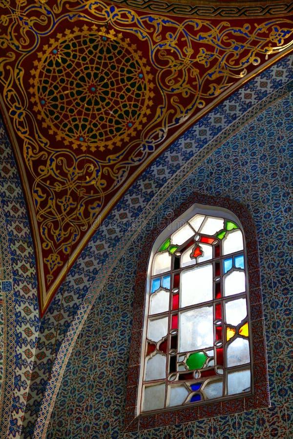 Topkapi Palace stock photo