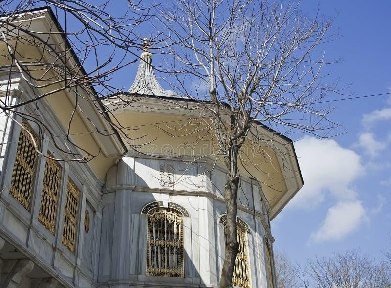 Topkapi palace, detail, raw royalty free stock photos