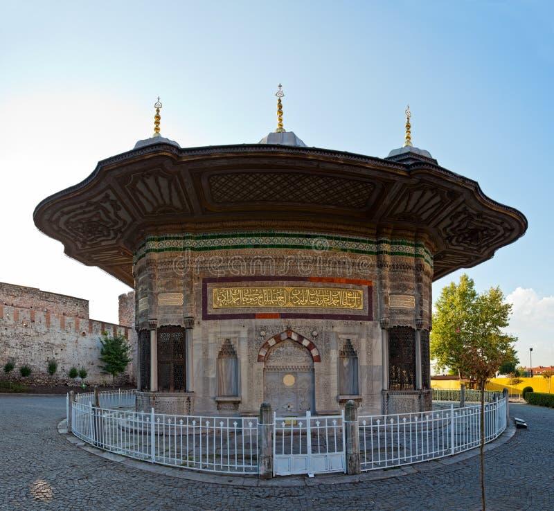 Topkapi Palace Istanbul royalty free stock photography