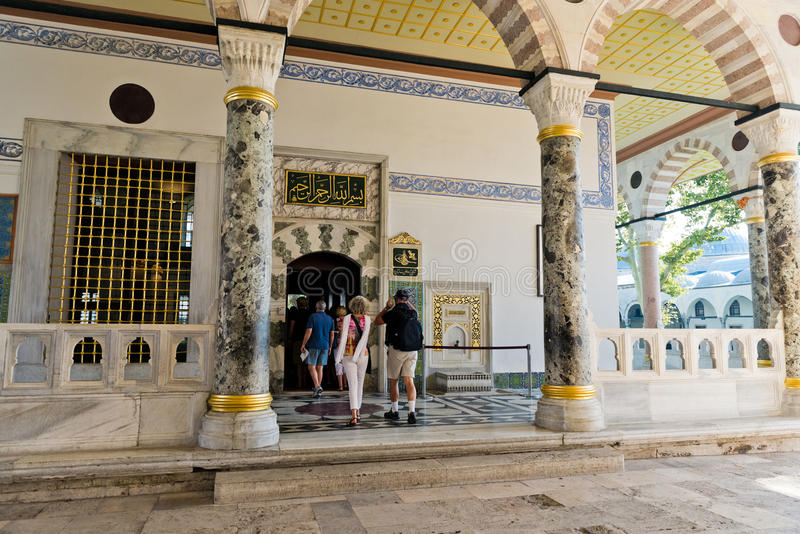 Topkapi Palace in Istanbul, Turkey royalty free stock image