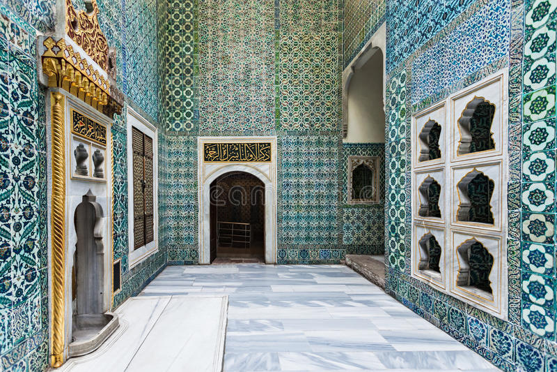 Topkapi palace, Istanbul stock images