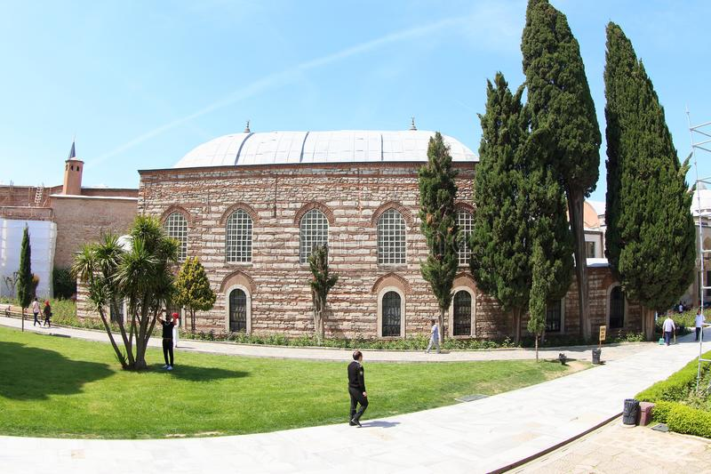 Topkapi Palace in Spring, Istanbul royalty free stock photography