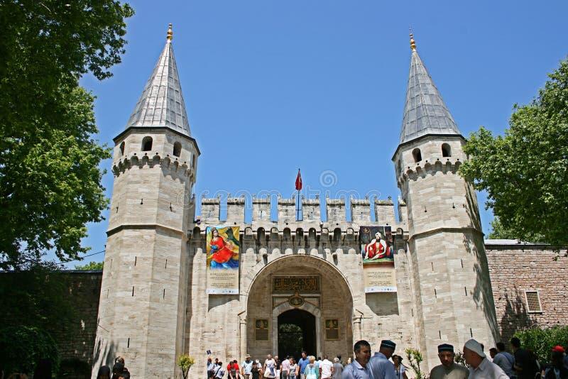 Topkapi Palast, Istanbul stockfotografie