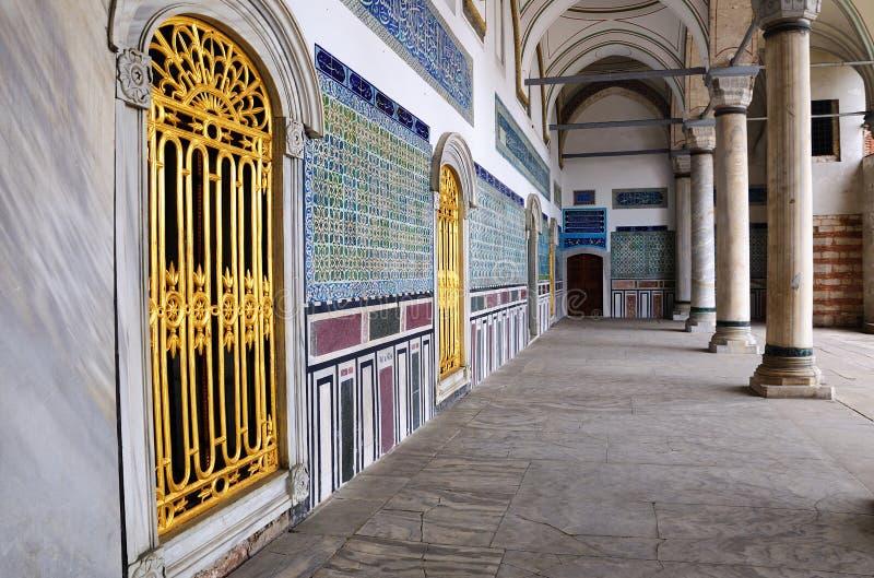 Topkapi Palast in Istanbul lizenzfreie stockbilder