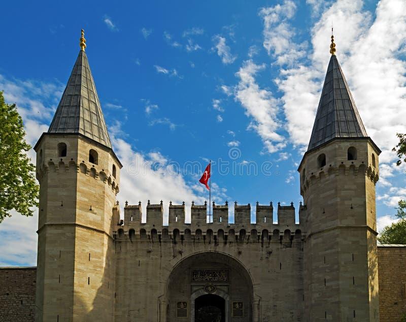 Topkapi-Palast, Istanbul die Türkei lizenzfreie stockfotografie