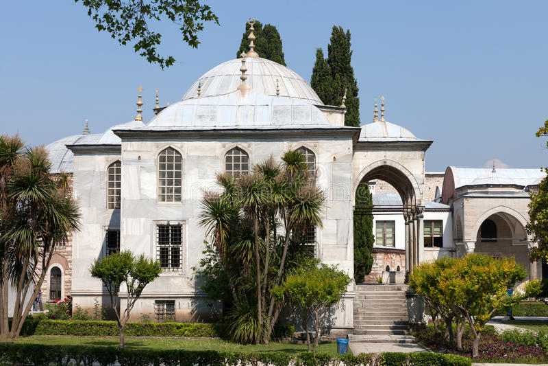Topkapi slott i Istanbul royaltyfri foto