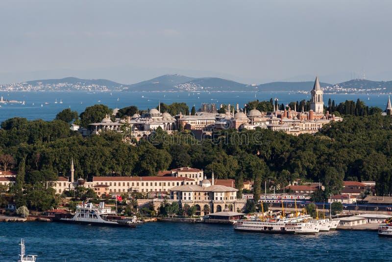 Topkapipaleis Istanboel royalty-vrije stock afbeelding