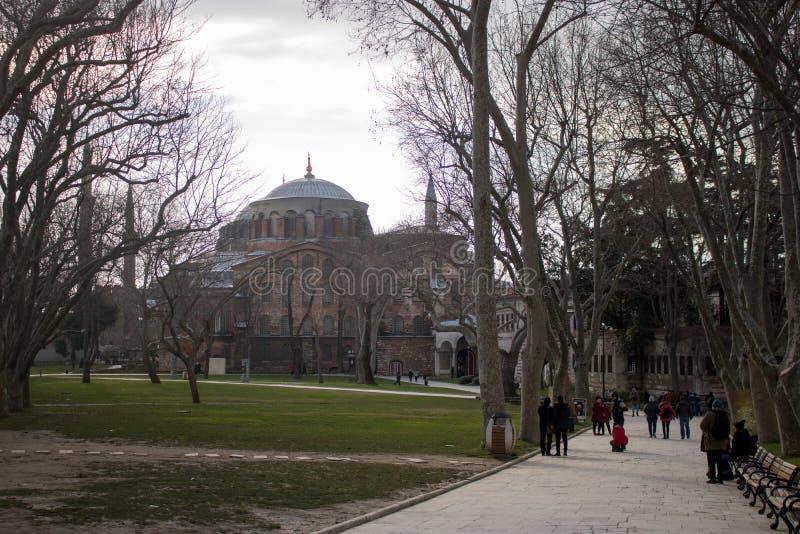 Topkapipaleis Istanboel, Turkije royalty-vrije stock afbeeldingen
