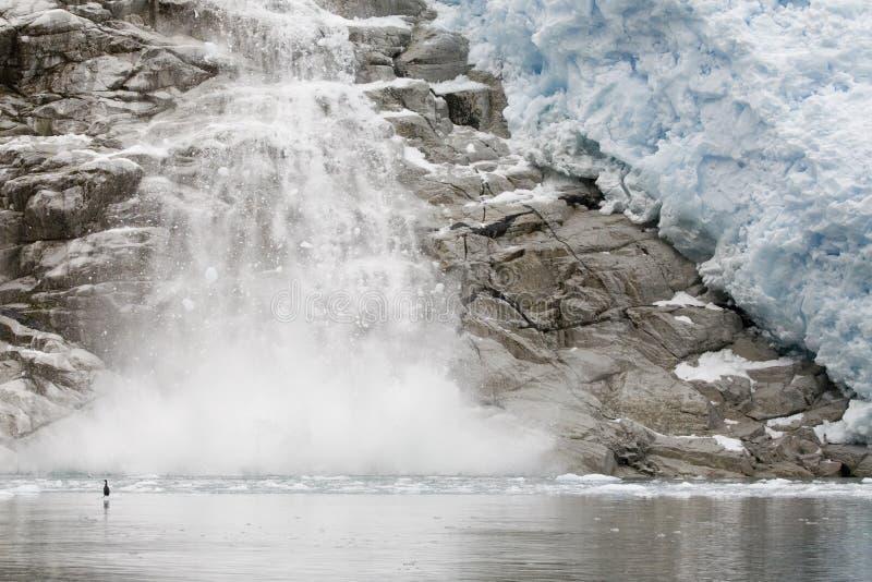 topnienie lodu obraz stock