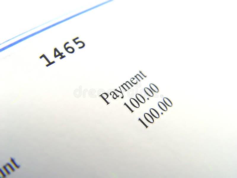 Topo do cheque fotos de stock royalty free