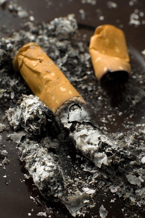 Topo do cigarro imagens de stock royalty free