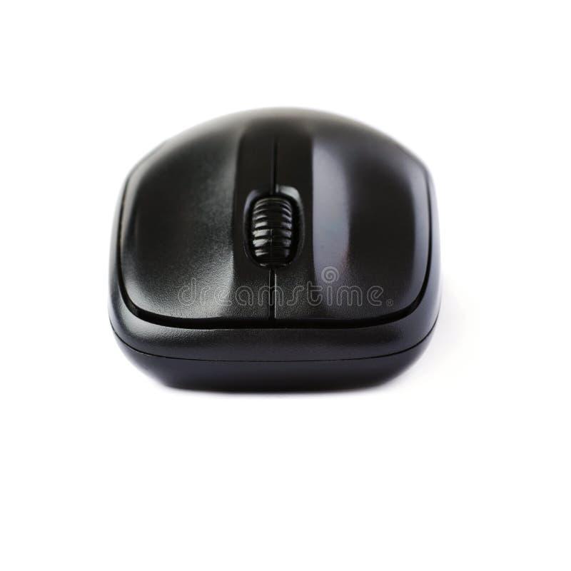 Topo senza fili del computer isolato sopra fondo bianco immagine stock