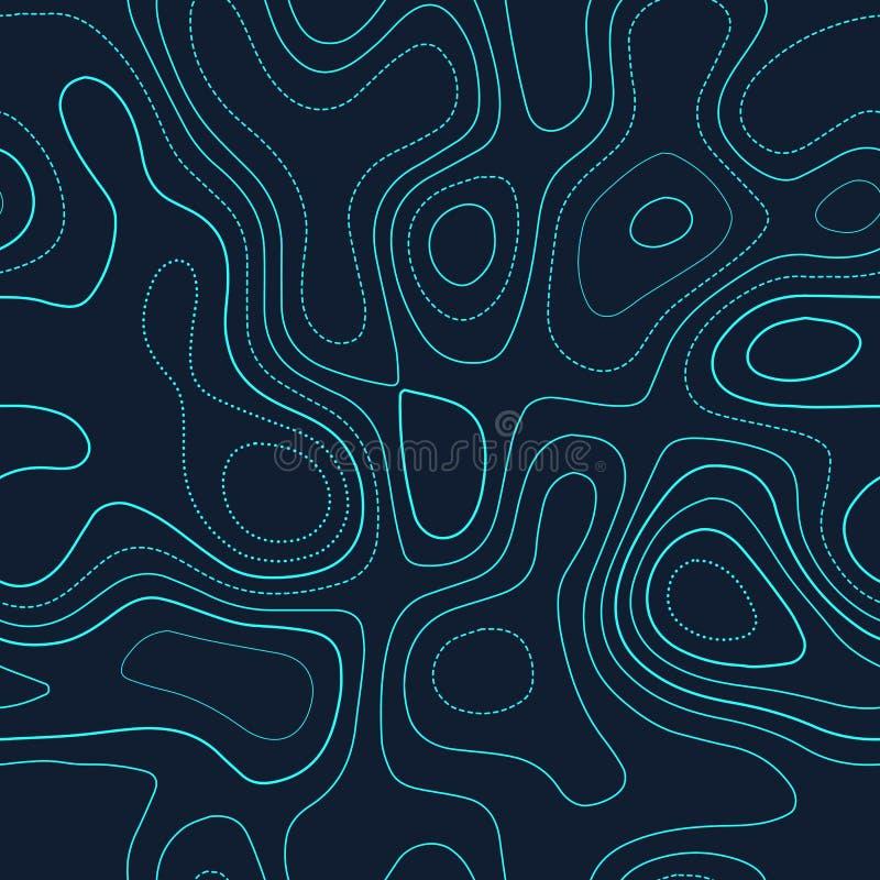 Topografía del terreno libre illustration