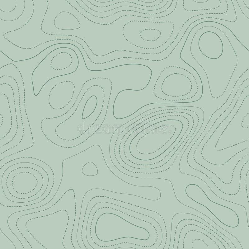 Topografía del terreno stock de ilustración