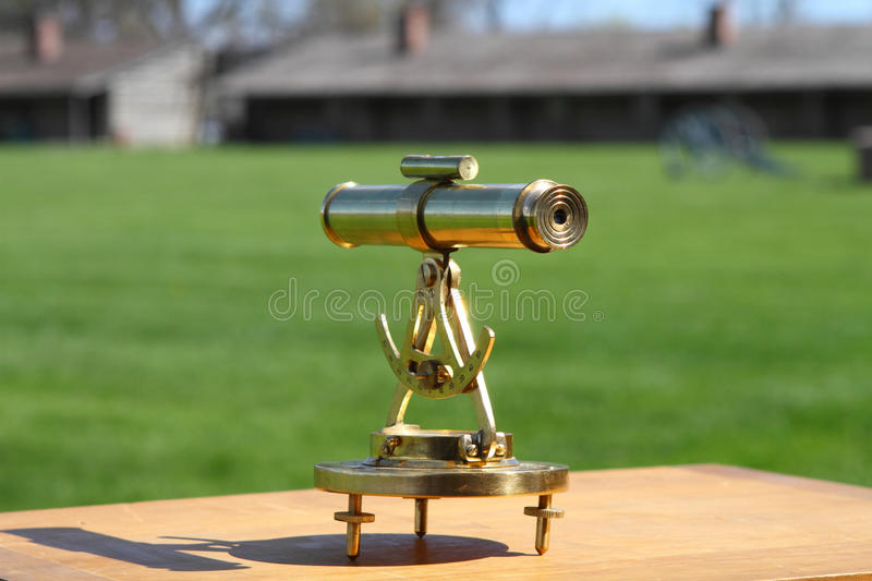 Topographic device royalty free stock image