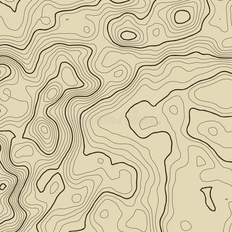 Topographic Map Background Concept With Space For Your Copy - Topographic hiking maps