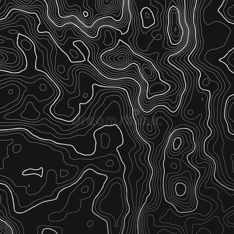 Topographic map background with space for copy . Line topography map contour background , geographic grid abstract. Vector illustration vector illustration
