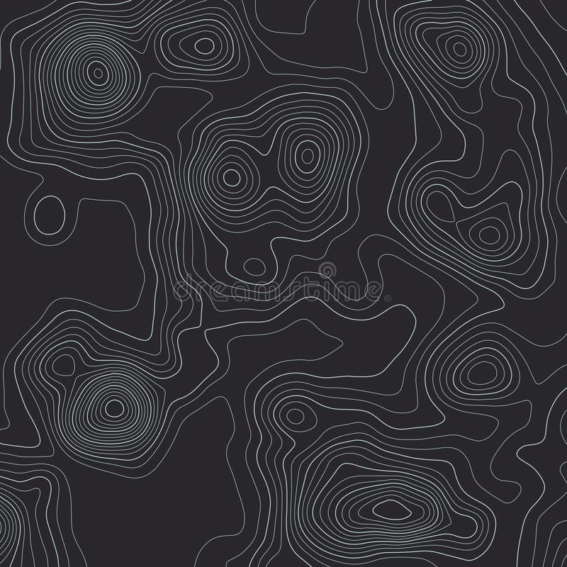 Topographic map lines background. Abstract vector illustration vector illustration