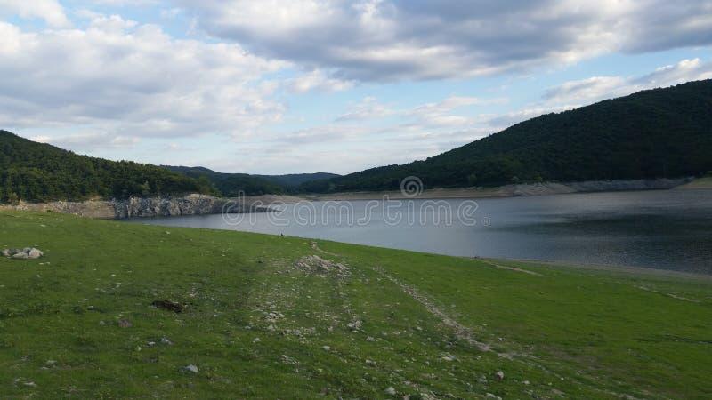 Topolnica sjö arkivfoto